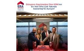 Dünyanın Gayrimenkul Devi ERA 'nın En Yeni ofisi  Gaziantep'te Açılıyor !