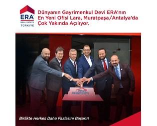 Dünyanın Gayrimenkul Devi  ERA'nın  En Yeni  Ofisi  Lara, Muratpaşa / Antalya'da  Çok Yakında Açılıyor