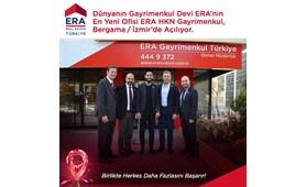 Dünyanın Gayrimenkul Devi ERA'nın En Yeni Ofisi ERA HKN Gayrimenkul Bergama İzmir'de Çok Yakında Açılıyor