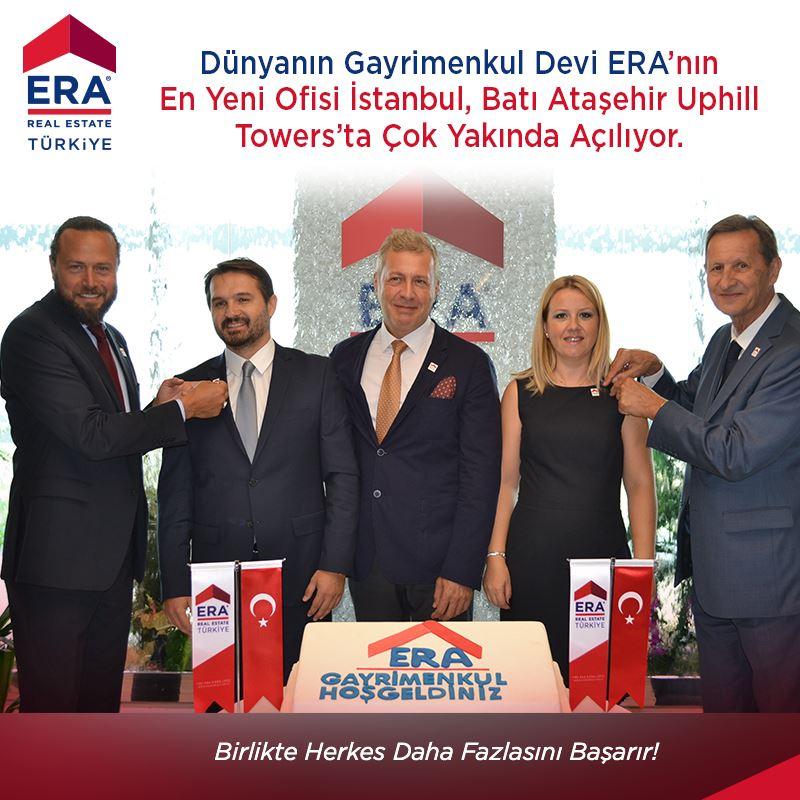 Dünyanın Gayrimenkul Devi ERA'nın En Yeni Ofisi Batı Ataşehir İstanbul'da Çok Yakında Açılıyor.