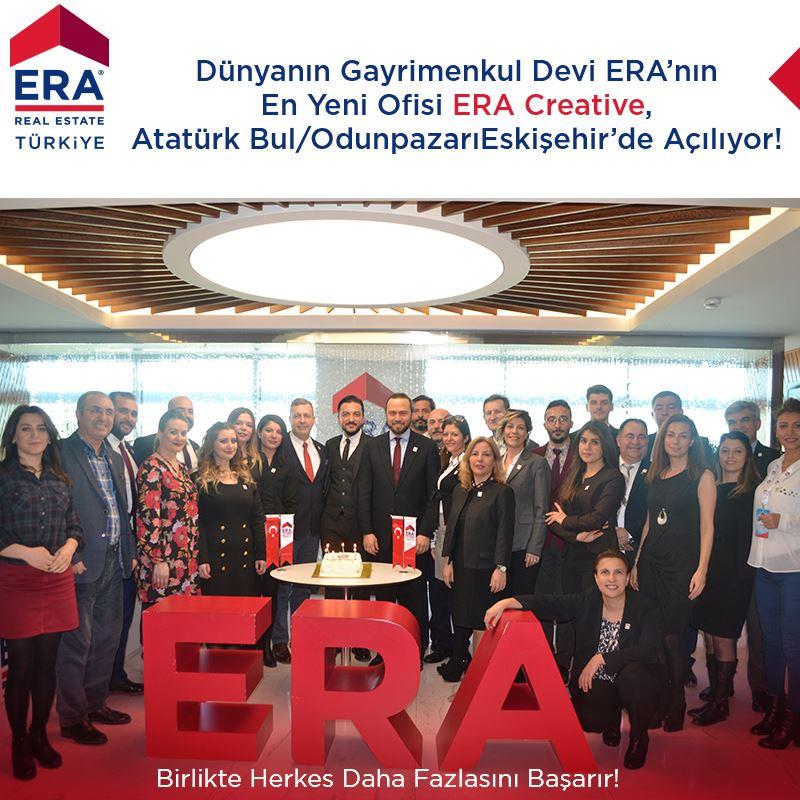 Dünyanın Gayrimenkul Devi ERA'nın En Yeni Ofisi ERA Creative  Eskişehir /Odunpazarı'nda açılıyor!
