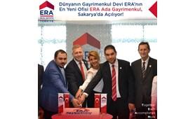 Dünyanın Gayrimenkul Devi ERA 'nın En Yeni ofisi ERA Ada Gayrimenkul Sakarya'da Açılıyor!