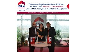 Dünyanın Gayrimenkul Devi ERA'nın En Yeni Ofisi ERA NG Liman Mah. Konyaaltı Antalya'da Çok Yakında Açılıyor!