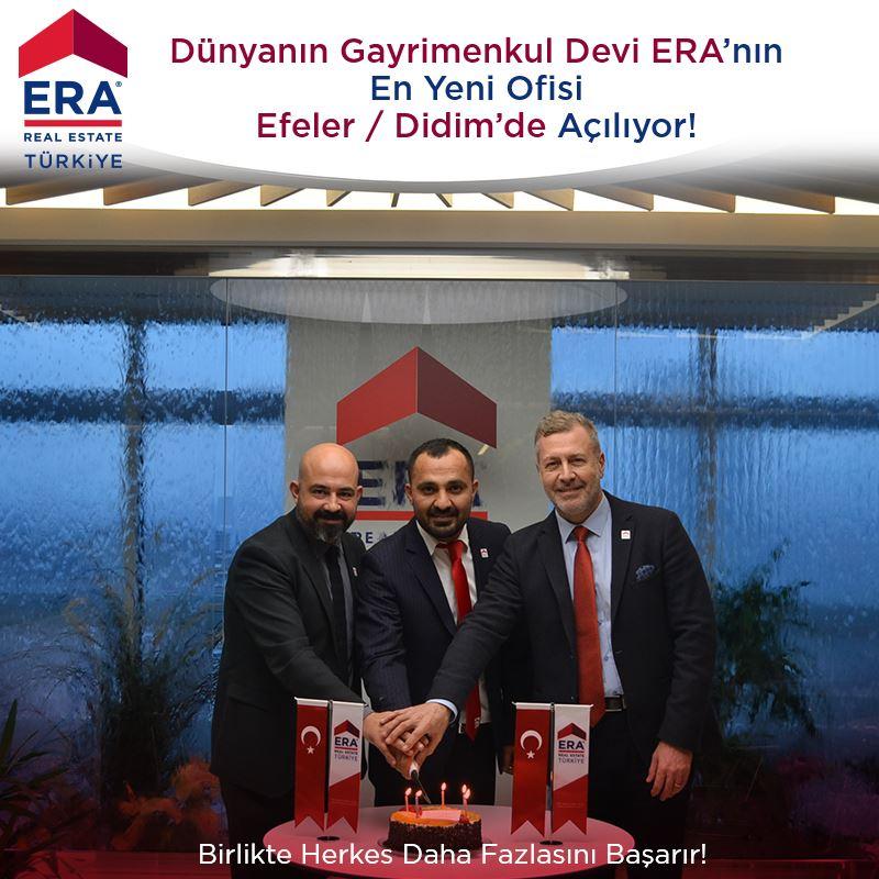 Dünyanın Gayrimenkul Devi ERA'nın En Yeni Ofisi Efeler - Didim'de Çok Yakında Açılıyor!