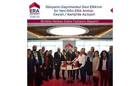 Dünyanın Gayrimenkul Devi ERA'nın En Yeni Ofisi ERA Amiral Kartal / Cevizli 'de Çok Yakında Açılıyor!