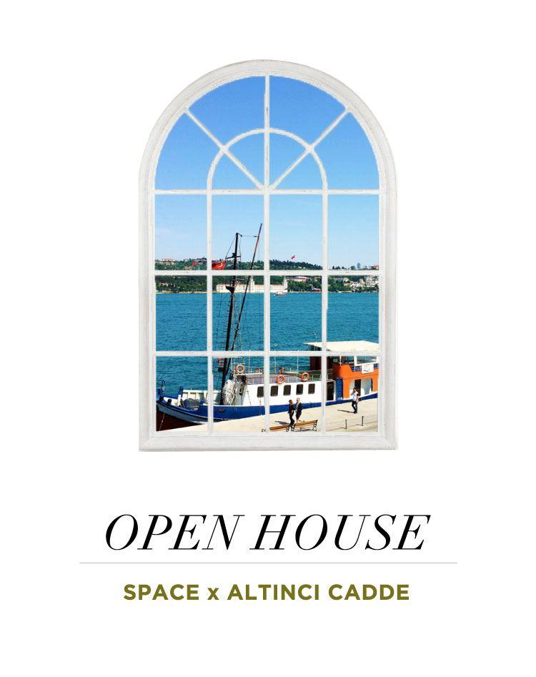 Space & Altıncı Cadde İş Birliğiyle Open House Projesi