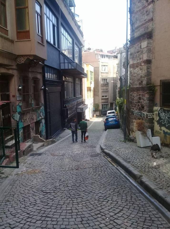 Kiralandı Beyoglu Evden Galatasarayda cok uygun fıyata