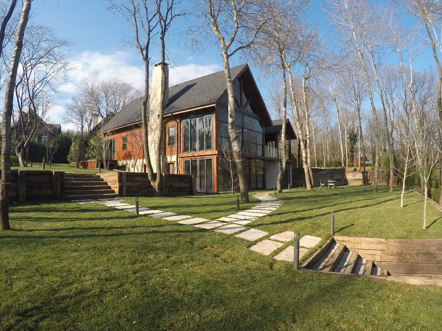 Villa For Sale In Kemer Country Log Houses