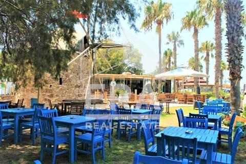 Yalıkavak merkez iskele'de satılık denize sıfır restoran