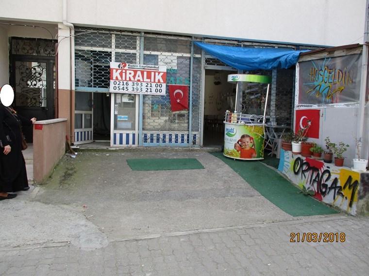 E5 Pendik Yakını Okul Karşısı 15 m2 Dükkan