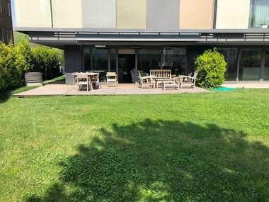 Ulus Savoy Sitesi'nde Satılık Bahçe Katı Daire