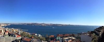 Spacious Bosphorus View  Flat for Rent in Cihangir