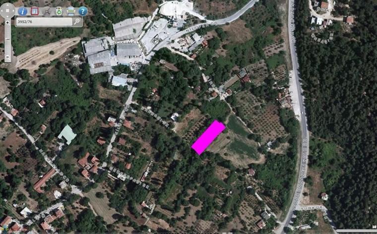 Nilüfer Gümüştepede Acil Satılık 665 m2 net Villa İmarlı E=0,40
