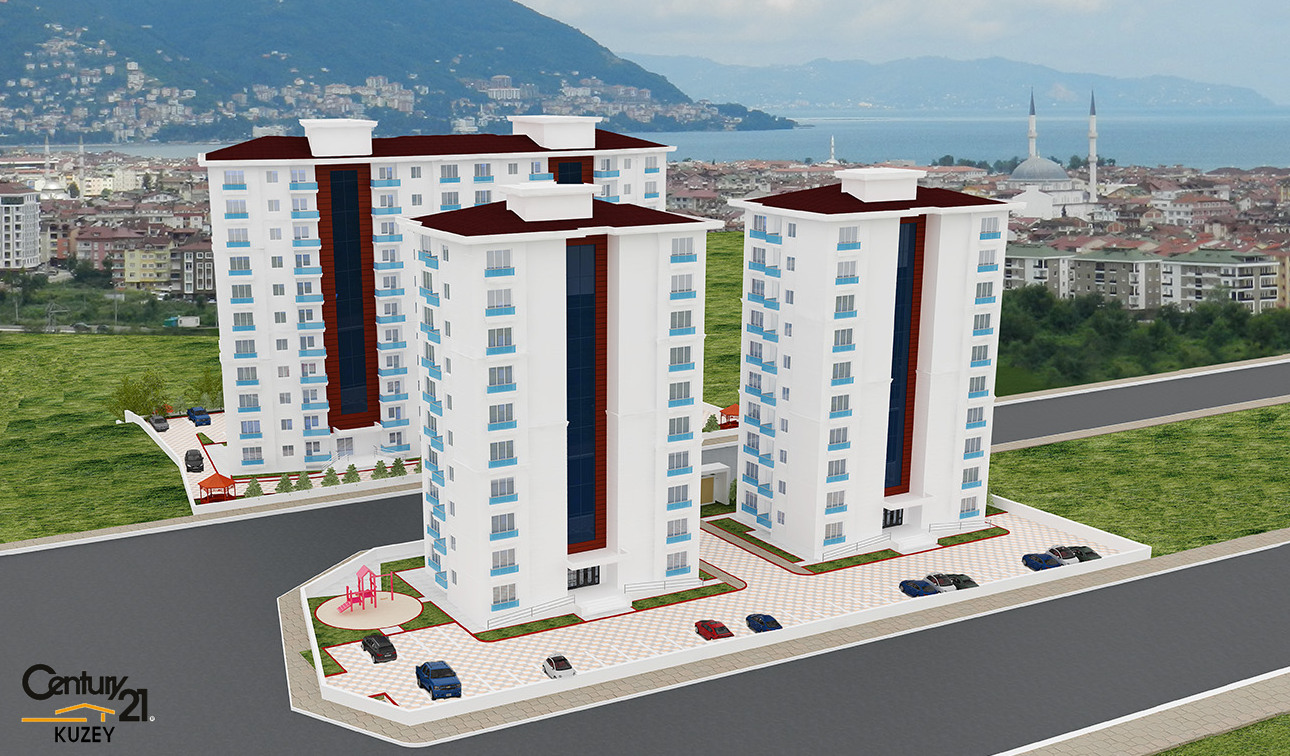 CENTURY21 KUZEY'DEN 156 M2 KARŞIYAKA'DA ANAHTAR TESLİM DAİRELER.
