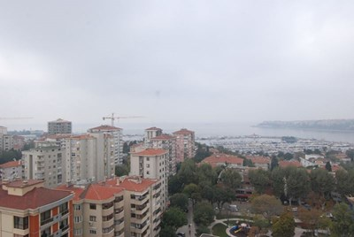 Roof Duplex with Sea View for Sale in Fenerbahce