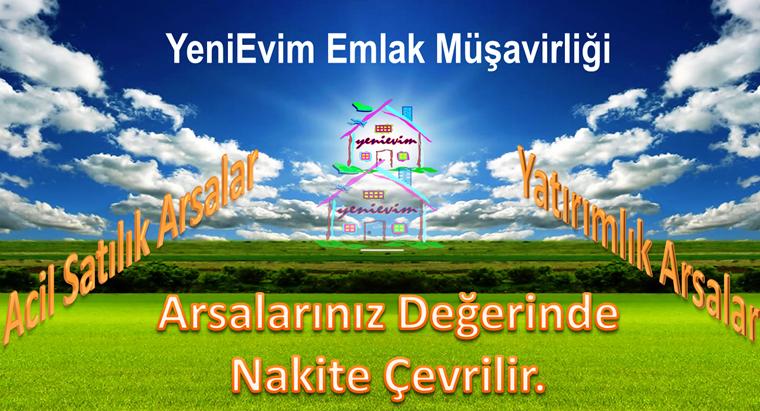 YeniEvim'den Tarsus İncirgediği'nde Yol Kenarı 21.000 m2 Tarla.