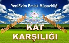 Sarıçam Mehmet Akif Ersoy'da Belediye  Civarı KAT KARŞILIĞI.