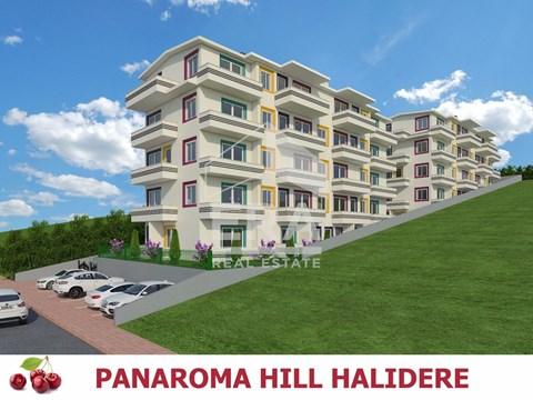 PANAROMA HILL HALIDERE'DE 4+1 ÇATI DUBLEKS