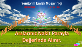 YeniEvim'den Sarıçam Bayramhacılı'da 5.344 m2 Tek Tapulu Arsa.