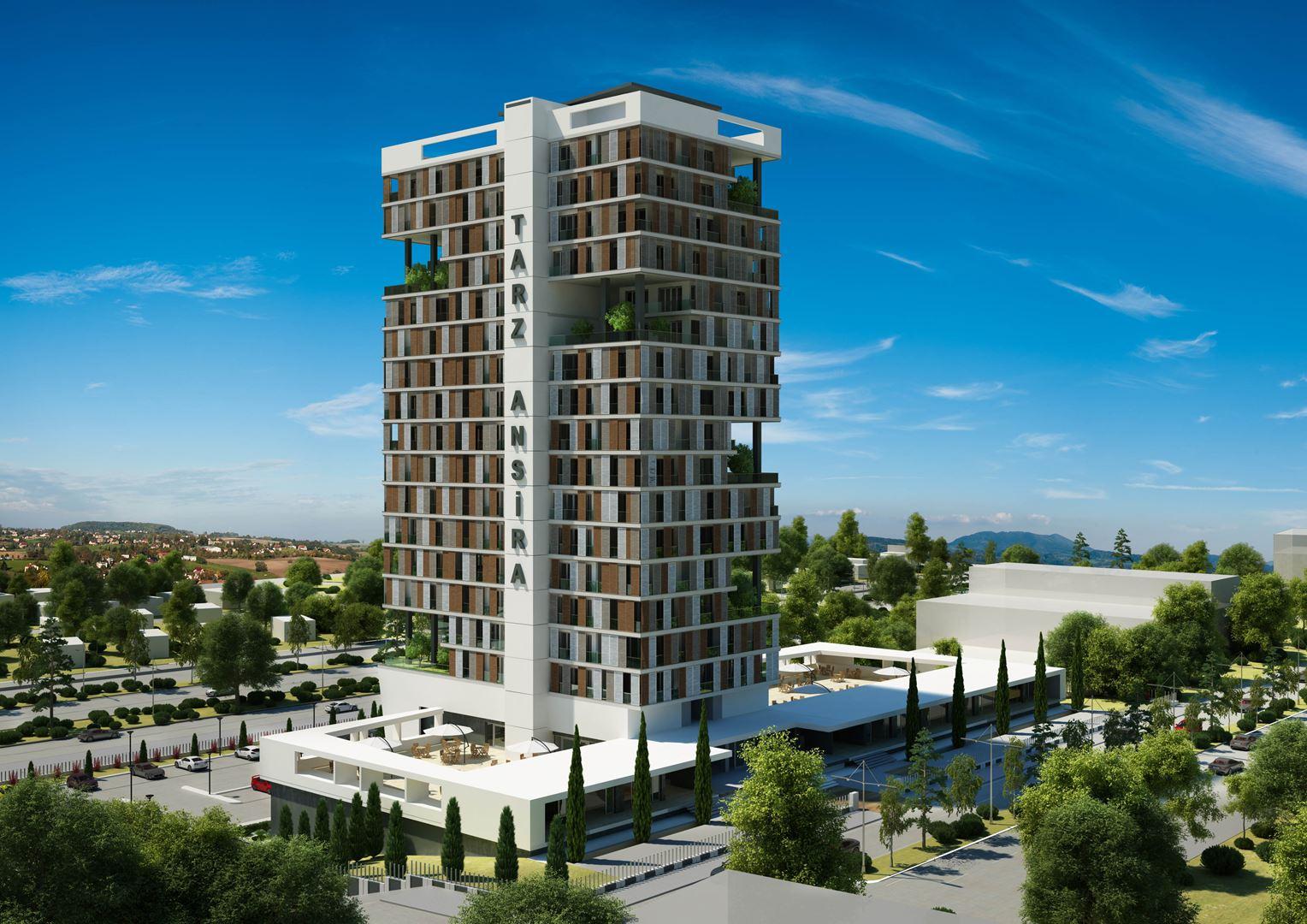 Yaşamkent-Tarz Ansira-2+1-Daire-İşyeri-Ofis-Satılk Fırsat Daire