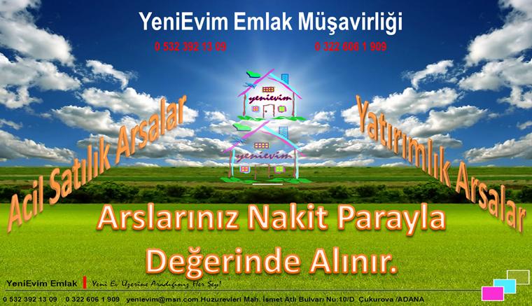 YeniEvim Bayramhacılı'da Göl Manzaralı 14.000 m2 Tek Tapu Arsa