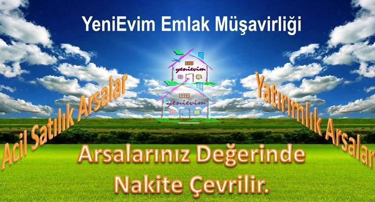 YeniEvim'den Bayramhacılı'da 5,5 Dönüm Göl Manzaralı Arazi.
