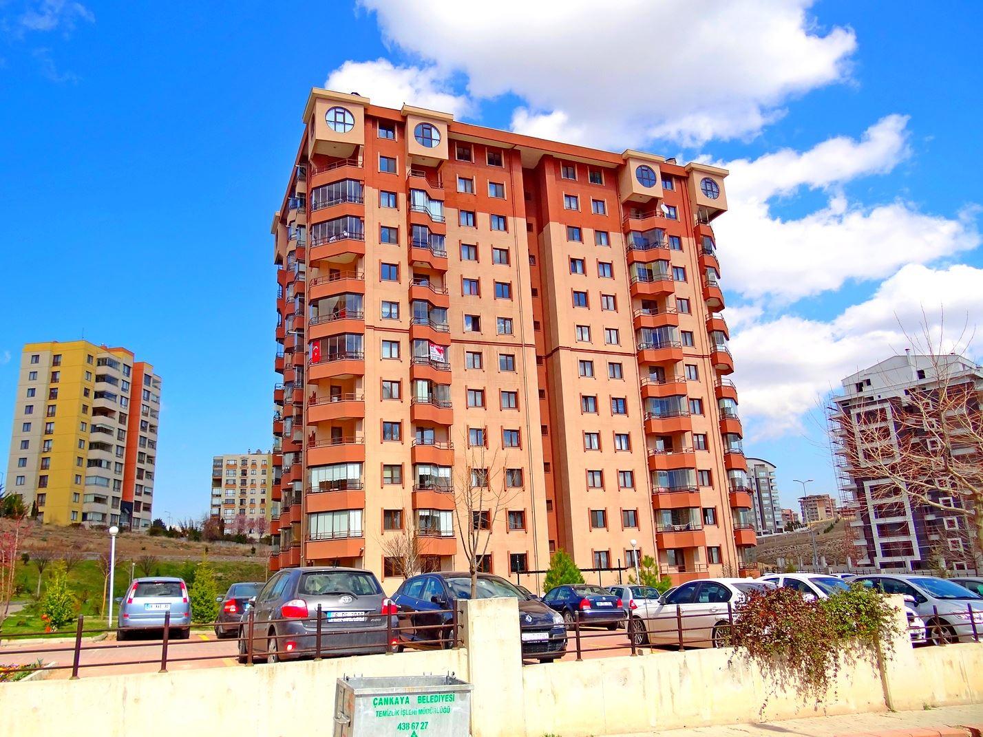 Park Caddesi sonu-Atlaspark Sitesi-Yaşamkent-3+1-Kombili-Kiralık