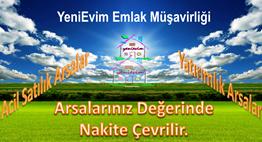 YeniEvim'den Seyhan Sarıhuğlar'da 1.600 m2 Yatırımlık Arsa.