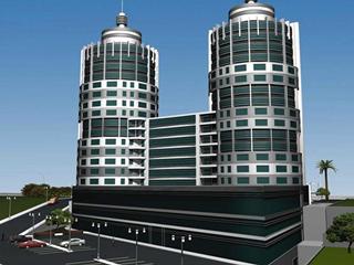 Eskişehir Yolu üzeri SUİT TOWER-1+1-FULL Eşyalı- SATILIK