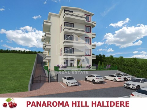 HALIDERE PAN0RAMA HILL EVLERİNDE 3+1 BAHÇE DUBLEKS