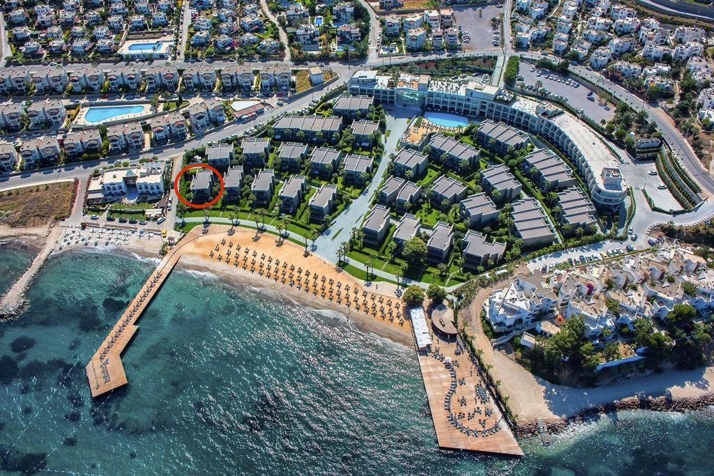 Swissôtel Residences Bodrum Beach Denize sıfır