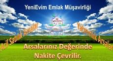 YeniEvim Çukurova Kabasakal'da Yatırımcıya Uygun Arsa.