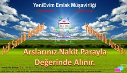 YeniEvim'den Şambayat'ta Birey Koleji Yanı 7.522 m2 Satılık Arsa