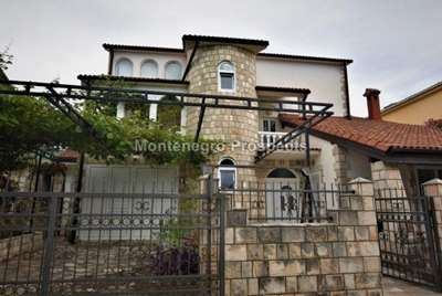 Three storey house in the village of Krasici, Lustica