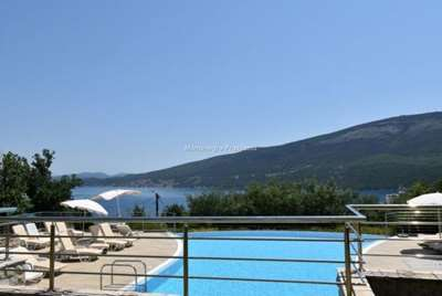 Two bedroom apartment with excellent sea views, Herceg Novi